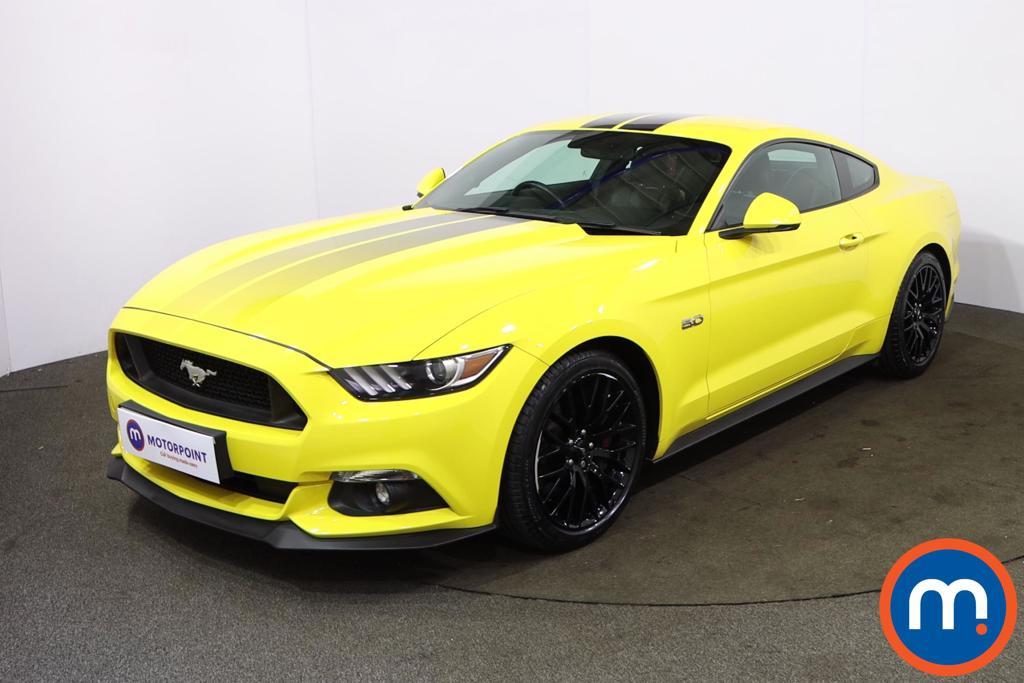 Ford Mustang 5.0 V8 GT [Custom Pack] 2dr Auto - Stock Number 1222656 Passenger side front corner