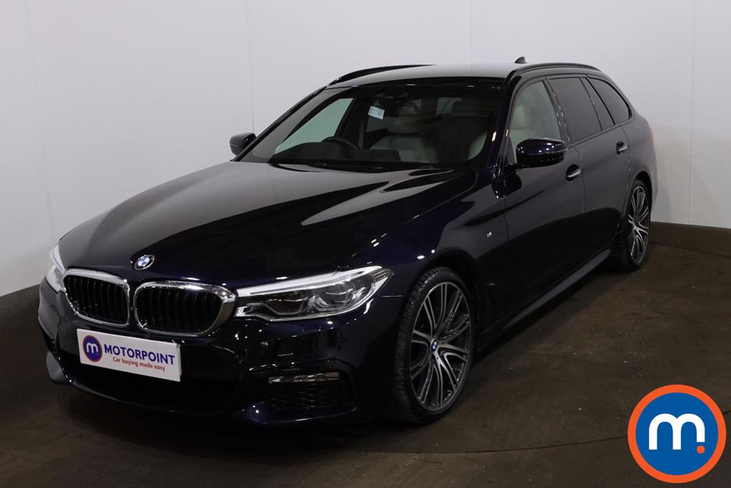 BMW 5 Series 530d xDrive M Sport 5dr Auto - Stock Number 1225082 Passenger side front corner