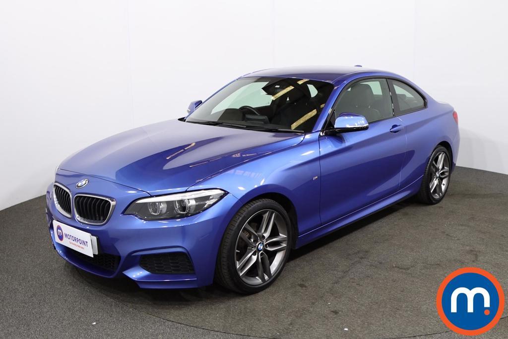 BMW 2 Series 218i M Sport 2dr [Nav] - Stock Number 1225692 Passenger side front corner