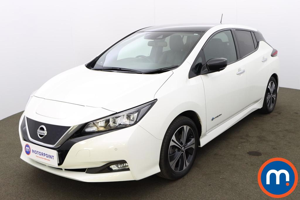 Nissan Leaf 110kW Tekna 40kWh 5dr Auto - Stock Number 1225742 Passenger side front corner