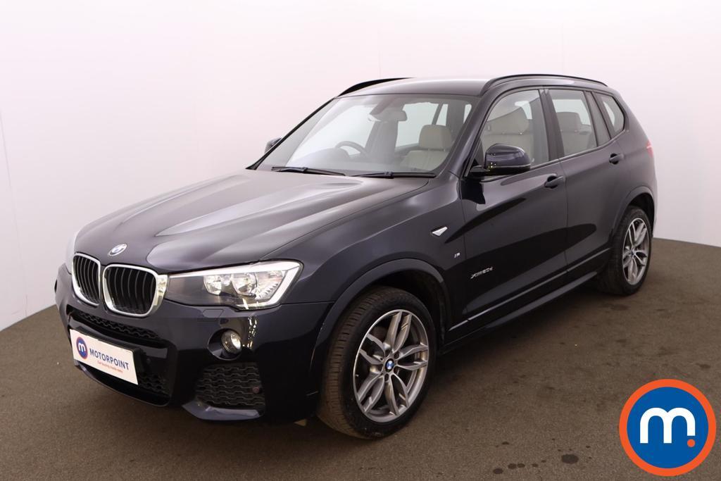 BMW X3 xDrive20d M Sport 5dr Step Auto - Stock Number 1226948 Passenger side front corner
