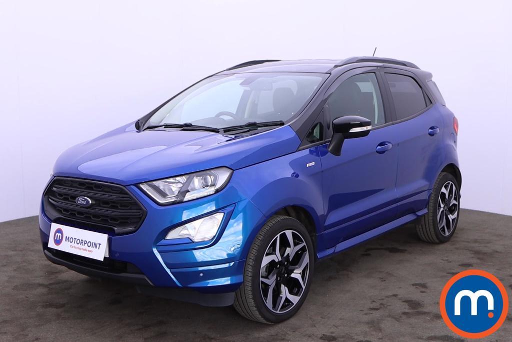 Ford Ecosport 1.0 EcoBoost 125 ST-Line 5dr - Stock Number 1227452 Passenger side front corner