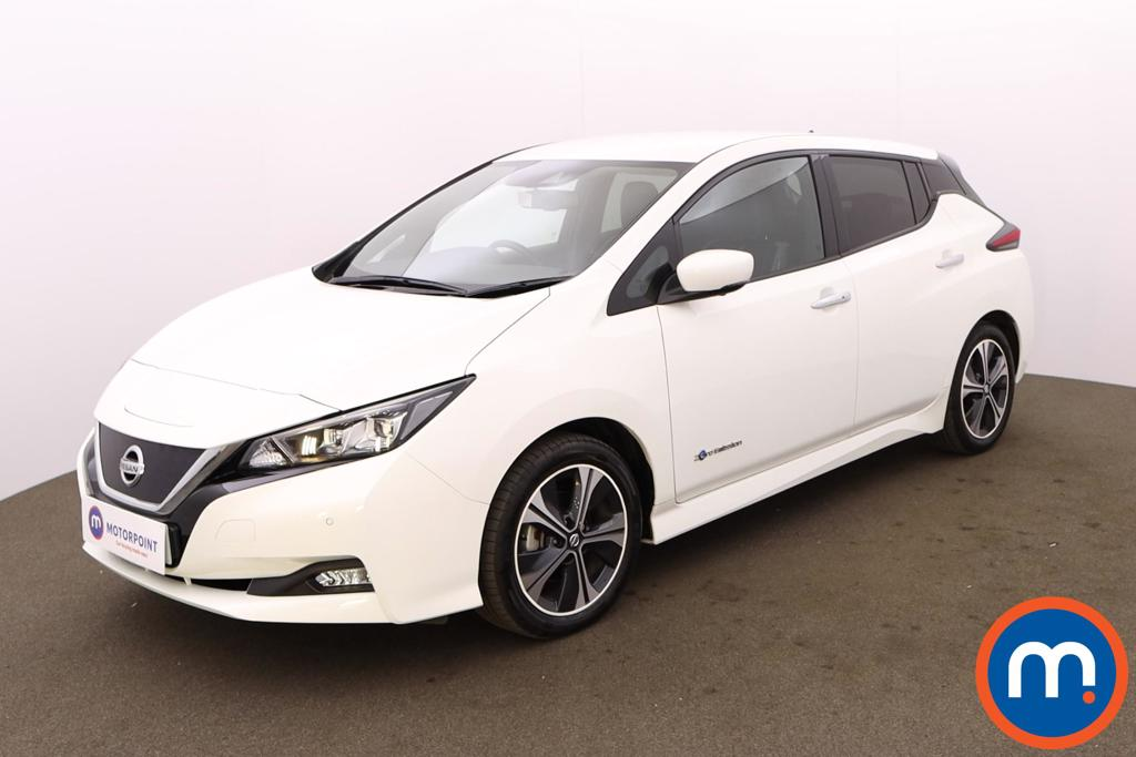 Nissan Leaf 110kW Tekna 40kWh 5dr Auto - Stock Number 1227899 Passenger side front corner