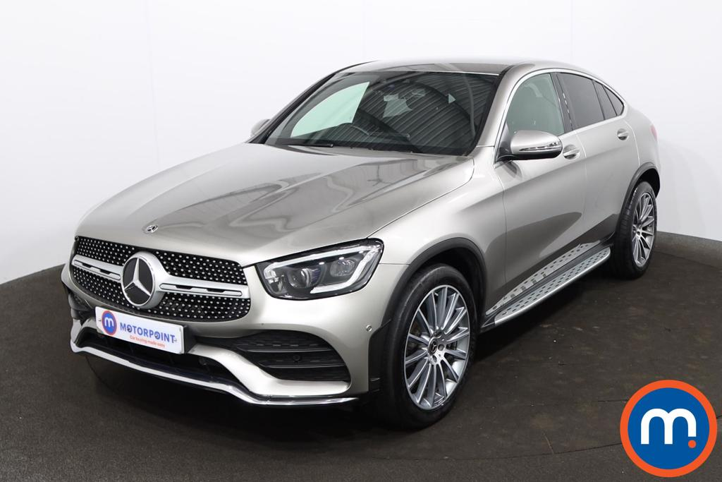 Mercedes-Benz Glc Coupe GLC 300d 4Matic AMG Line Premium 5dr 9G-Tronic - Stock Number 1229104 Passenger side front corner