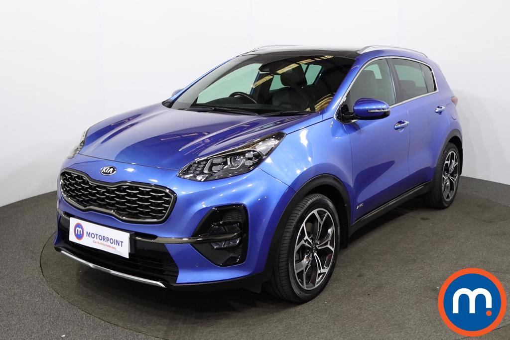 KIA Sportage 1.6T GDi GT-Line S 5dr DCT Auto [AWD] - Stock Number 1226166 Passenger side front corner