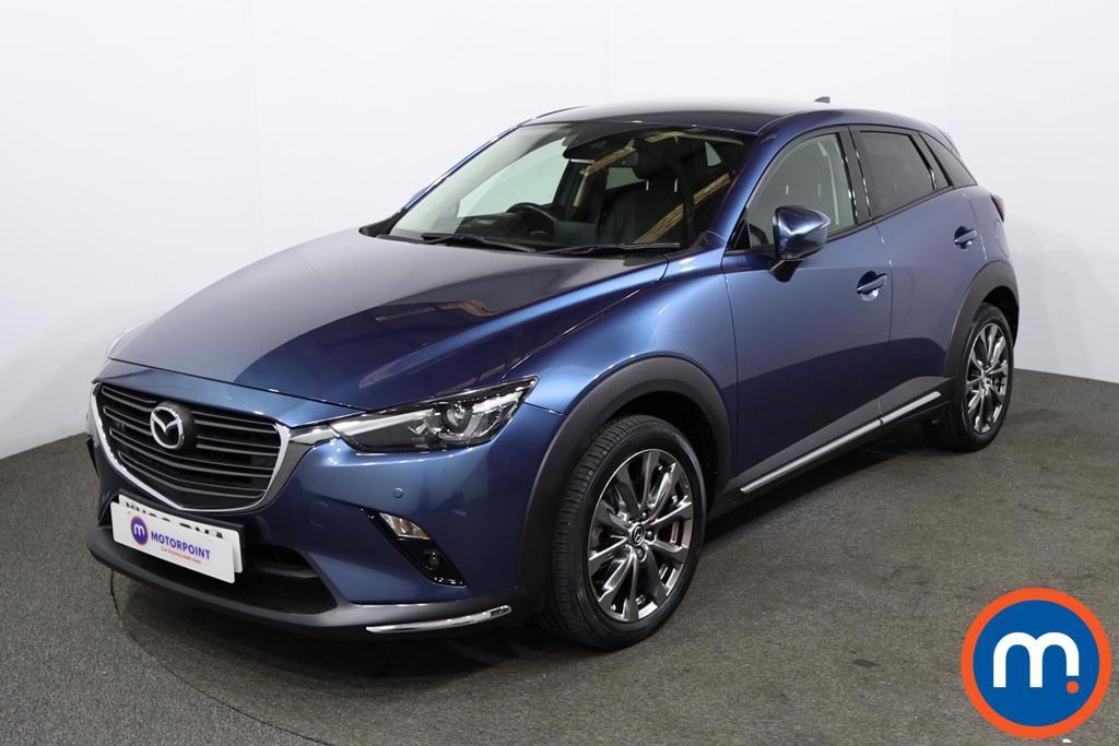 Mazda Cx-3 2.0 150 Sport Nav -Plus 5dr AWD - Stock Number 1227696 Passenger side front corner