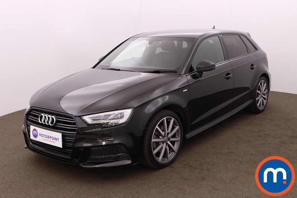 Audi A3 30 TDI 116 Black Edition 5dr - Stock Number 1227465 Passenger side front corner