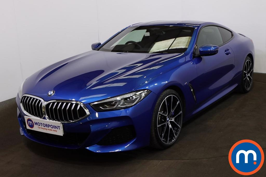 BMW 8 Series 840d xDrive 2dr Auto - Stock Number 1228429 Passenger side front corner