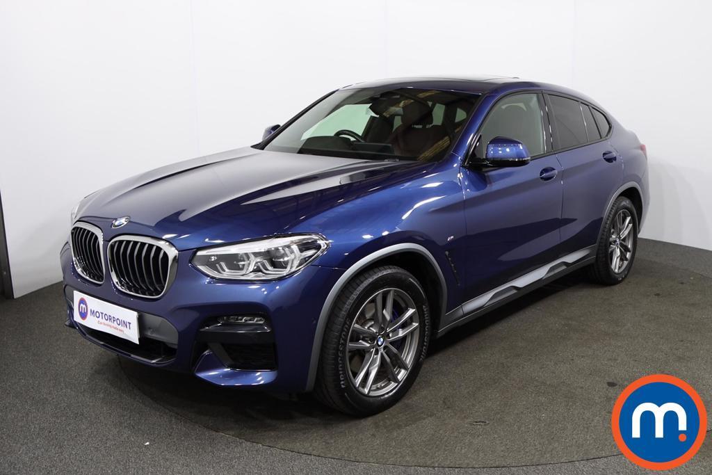 BMW X4 xDrive30d M Sport X 5dr Step Auto - Stock Number 1225155 Passenger side front corner