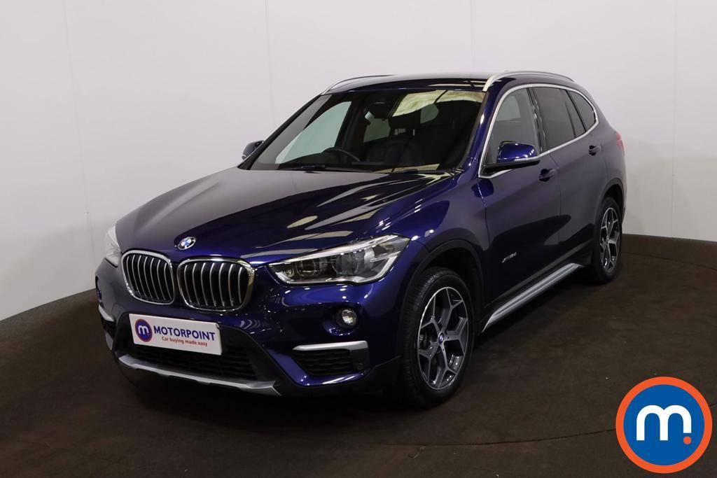 BMW X1 xDrive 18d xLine 5dr Step Auto - Stock Number 1227415 Passenger side front corner