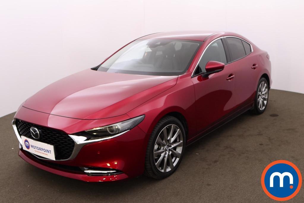 Mazda 3 2.0 Skyactiv-X MHEV GT Sport Tech 4dr - Stock Number 1227460 Passenger side front corner