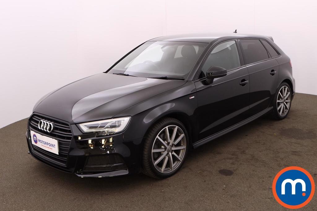 Audi A3 35 TDI Black Edition 5dr S Tronic - Stock Number 1227463 Passenger side front corner