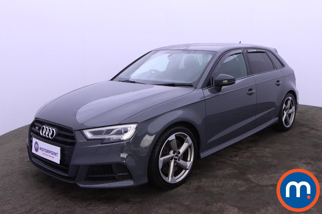 Audi A3 S3 TFSI Quattro Black Edition 5dr S Tronic - Stock Number 1227603 Passenger side front corner