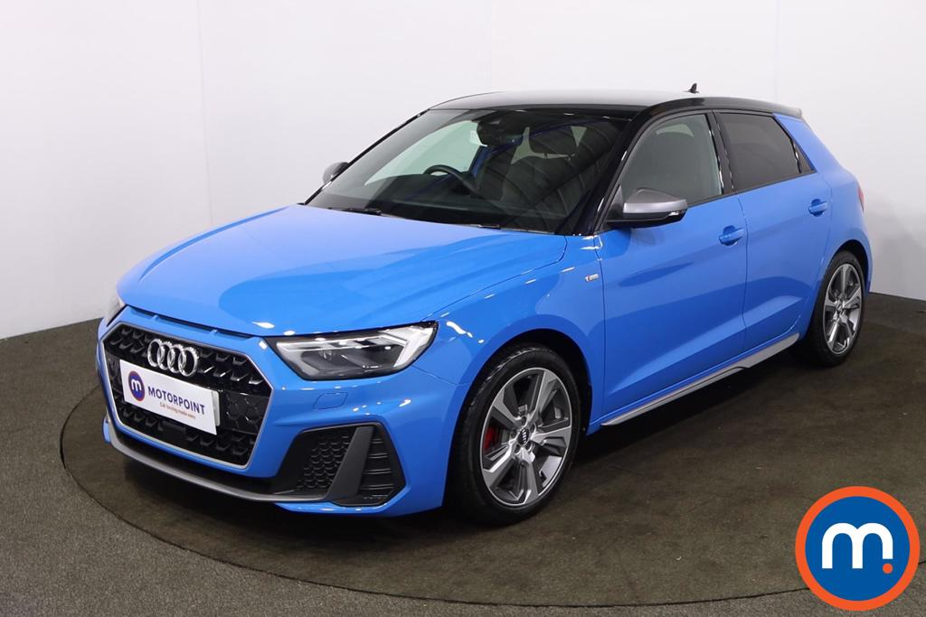 Audi A1 40 TFSI S Line Competition 5dr S Tronic - Stock Number 1228332 Passenger side front corner