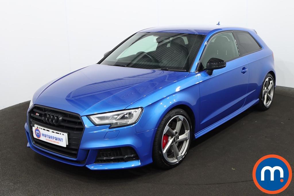 Audi A3 S3 TFSI Quattro Black Edition 3dr S Tronic [Tech] - Stock Number 1228459 Passenger side front corner