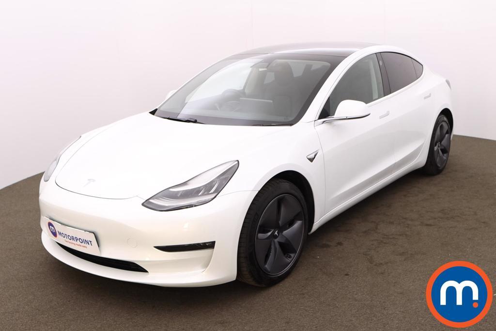 Tesla Model 3 Long Range AWD 4dr Auto - Stock Number 1230027 Passenger side front corner