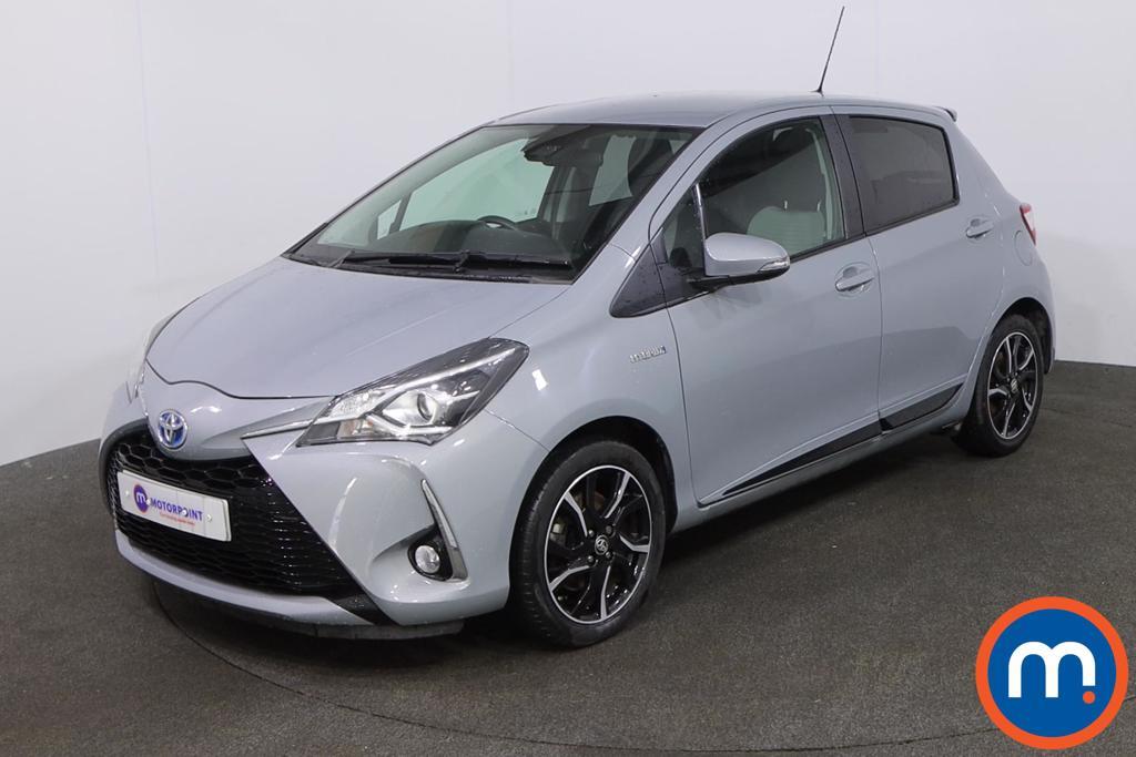 Toyota Yaris 1.5 Hybrid Design 5dr CVT - Stock Number 1219255 Passenger side front corner