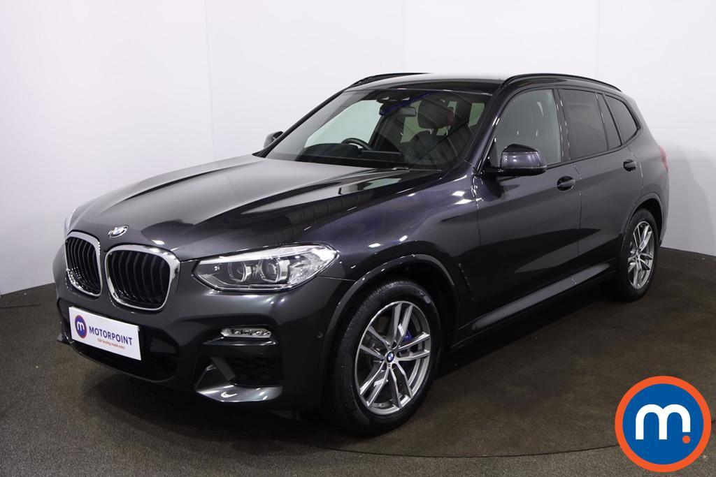 BMW X3 xDrive30d M Sport 5dr Step Auto - Stock Number 1221025 Passenger side front corner