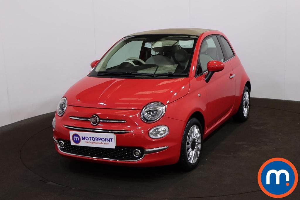 Fiat 500 1.2 Lounge 2dr Dualogic - Stock Number 1224464 Passenger side front corner