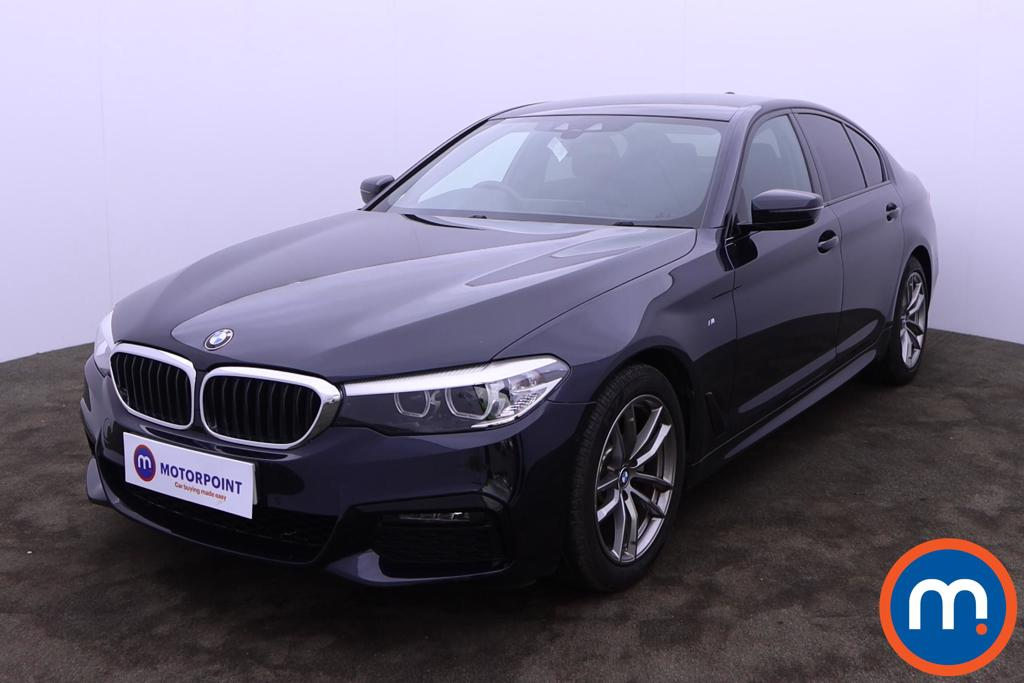 BMW 5 Series 520d MHT M Sport 4dr Auto - Stock Number 1227644 Passenger side front corner