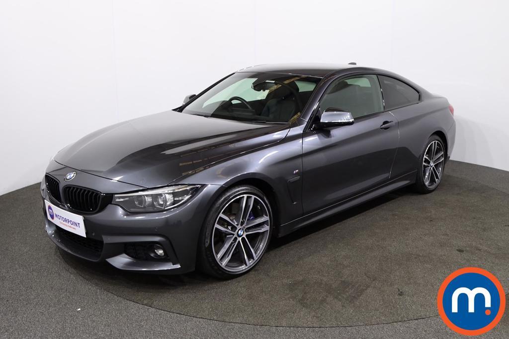 BMW 4 Series 430i M Sport 2dr Auto [Professional Media] - Stock Number 1228005 Passenger side front corner