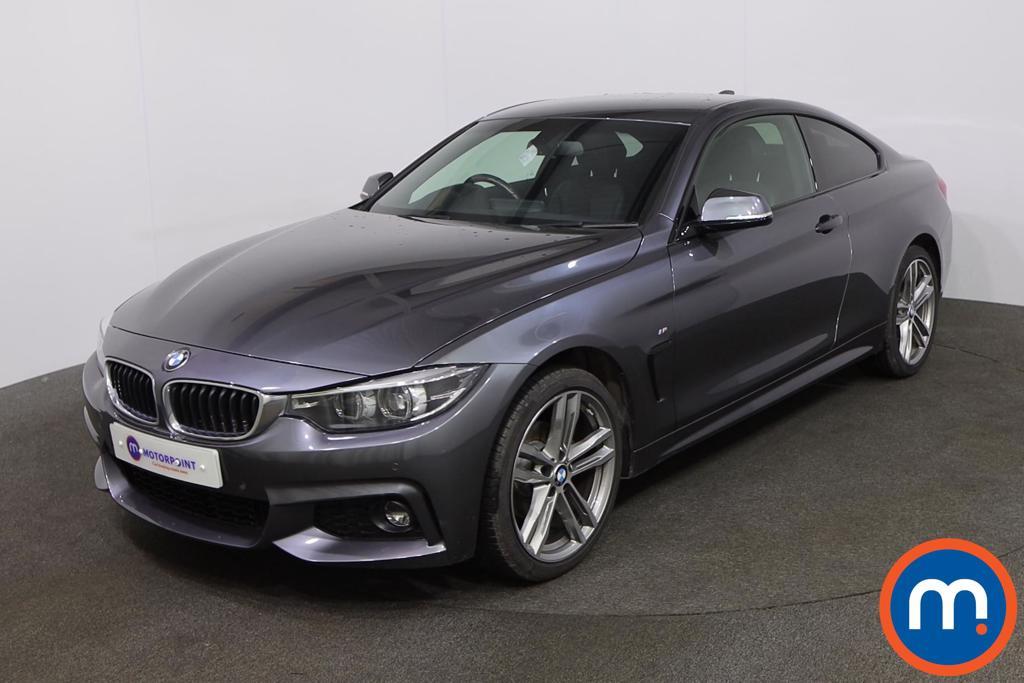 BMW 4 Series 420i xDrive M Sport 2dr Auto [Professional Media] - Stock Number 1228840 Passenger side front corner