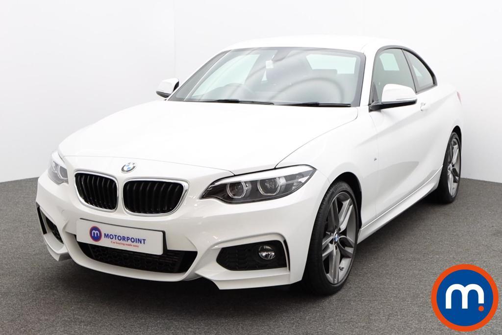 BMW 2 Series 220d M Sport 2dr [Nav] Step Auto - Stock Number 1229569 Passenger side front corner