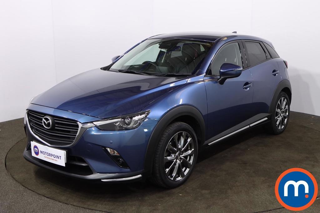 Mazda Cx-3 2.0 Sport Nav -Plus 5dr Auto - Stock Number 1219621 Passenger side front corner