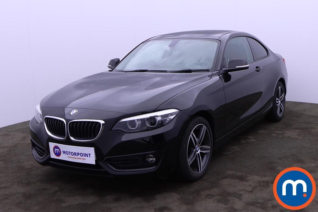 BMW 2 Series 218d Sport 2dr Step Auto [Nav] - Stock Number 1224498 Passenger side front corner