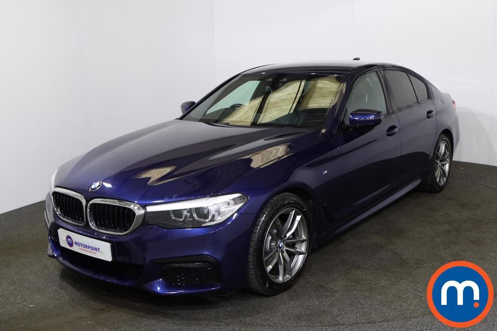 BMW 5 Series 520d M Sport 4dr Auto - Stock Number 1227231 Passenger side front corner