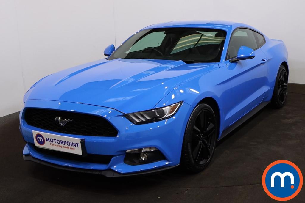 Ford Mustang 2.3 EcoBoost 2dr Auto - Stock Number 1227241 Passenger side front corner