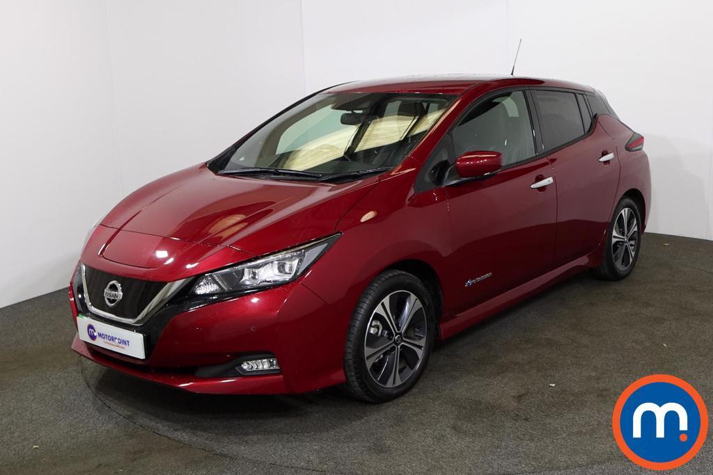Nissan Leaf 110kW Tekna 40kWh 5dr Auto - Stock Number 1227643 Passenger side front corner