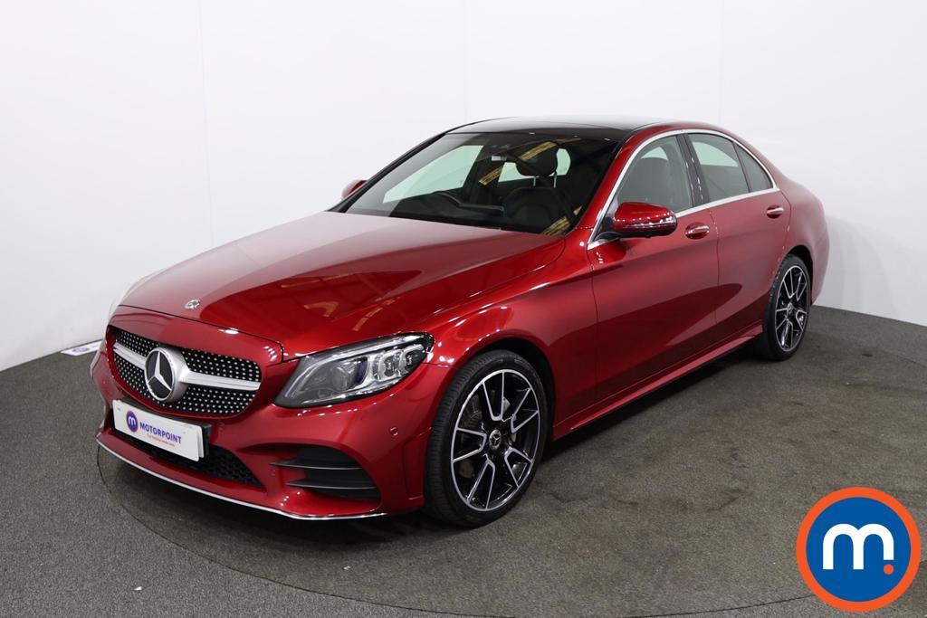 Mercedes-Benz C Class C220d 4Matic AMG Line Premium Plus 4dr 9G-Tronic - Stock Number 1231151 Passenger side front corner