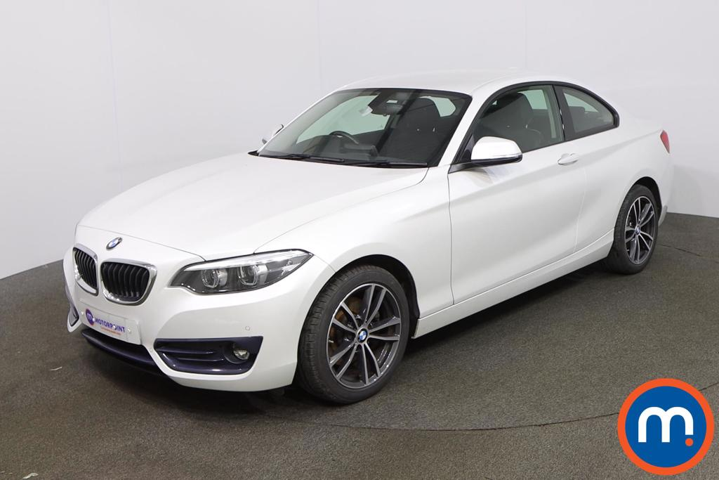 BMW 2 Series 220i Sport 2dr [Nav] Step Auto - Stock Number 1217364 Passenger side front corner