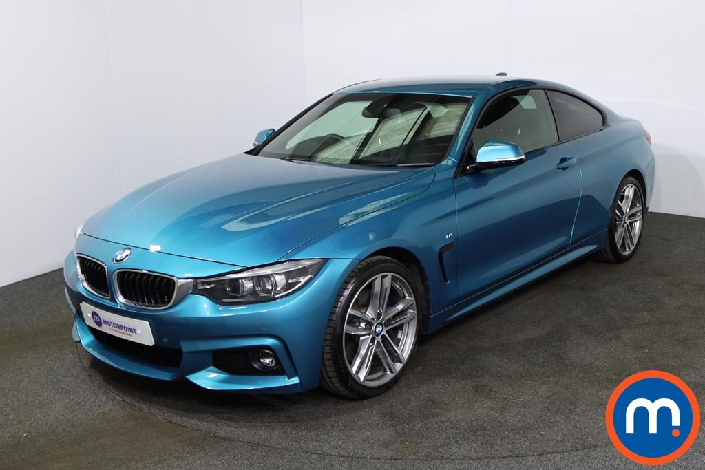 BMW 4 Series 420d [190] M Sport 2dr Auto [Professional Media] - Stock Number 1228765 Passenger side front corner