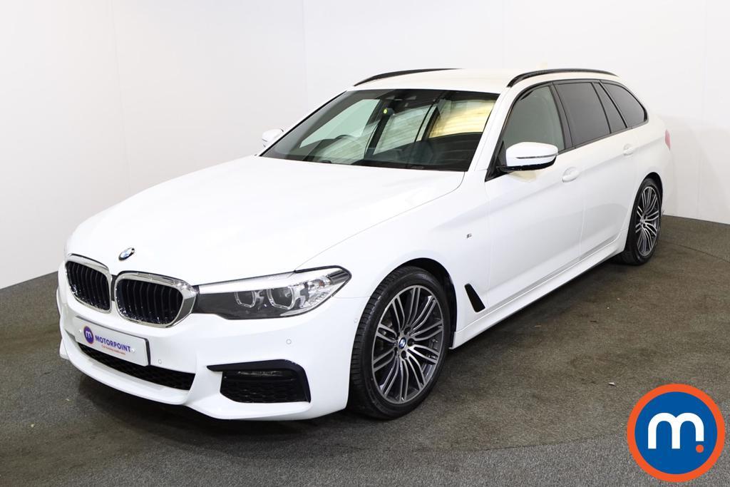 BMW 5 Series 520d xDrive M Sport 5dr Auto - Stock Number 1228842 Passenger side front corner