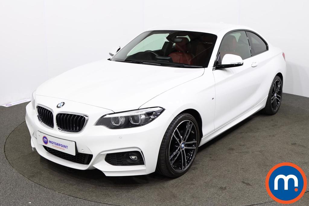 BMW 2 Series 218d M Sport 2dr [Nav] - Stock Number 1230947 Passenger side front corner