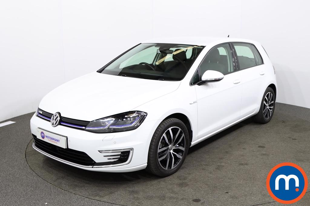 Volkswagen Golf 99kW e-Golf 35kWh 5dr Auto - Stock Number 1230961 Passenger side front corner