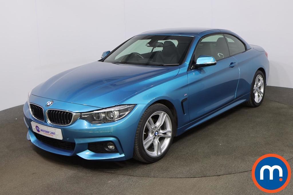 BMW 4 Series 420d [190] M Sport 2dr Auto [Professional Media] - Stock Number 1220464 Passenger side front corner