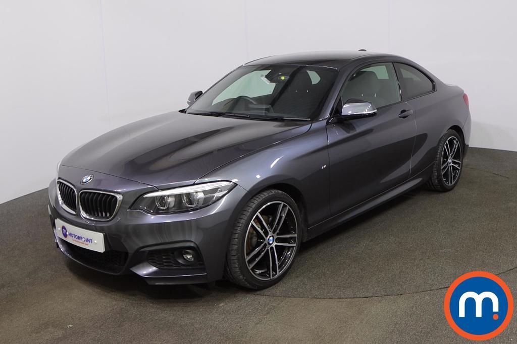 BMW 2 Series 218d M Sport 2dr Step Auto [Nav] - Stock Number 1223788 Passenger side front corner