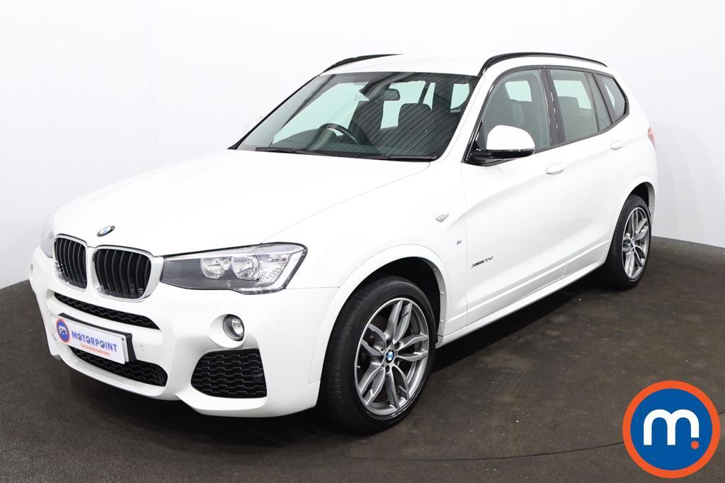 BMW X3 xDrive20d M Sport 5dr Step Auto - Stock Number 1225477 Passenger side front corner