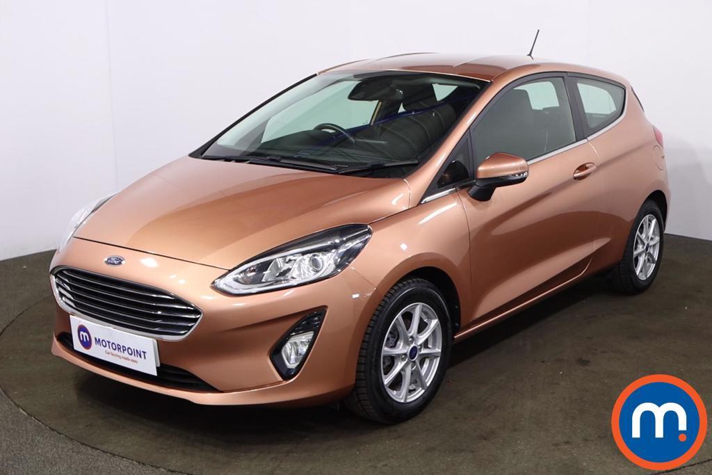 Ford Fiesta 1.1 Zetec B-PlusO Play 3dr - Stock Number 1226733 Passenger side front corner