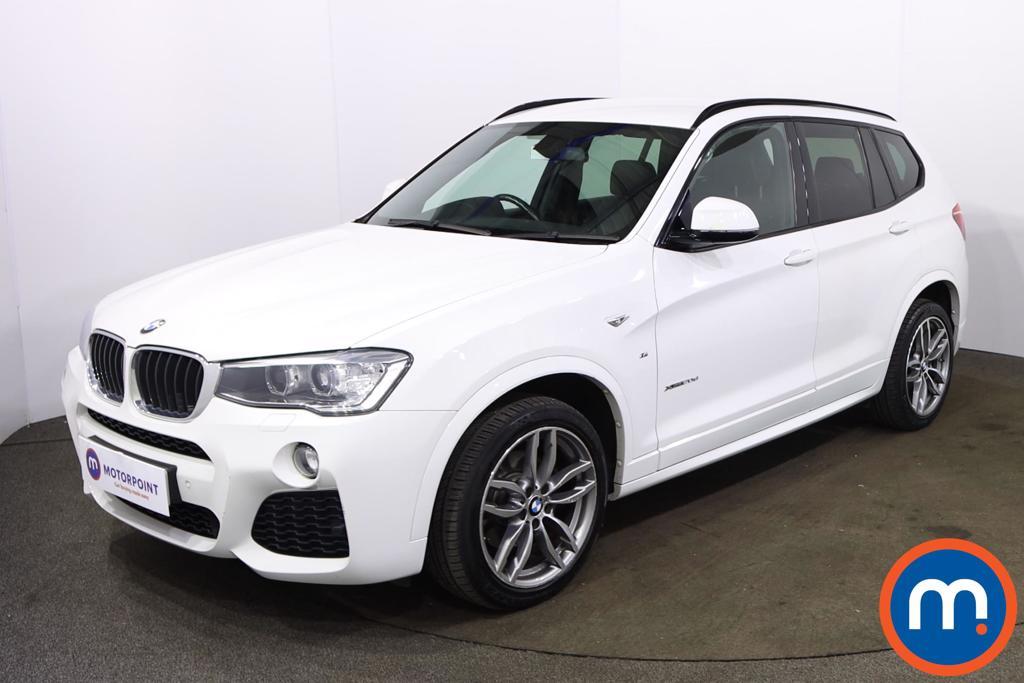 BMW X3 xDrive20d M Sport 5dr Step Auto - Stock Number 1226918 Passenger side front corner