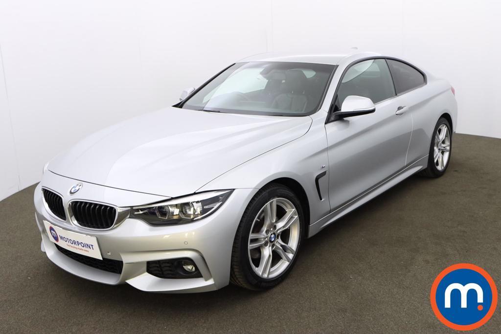 BMW 4 Series 420i M Sport 2dr Auto [Professional Media] - Stock Number 1228186 Passenger side front corner