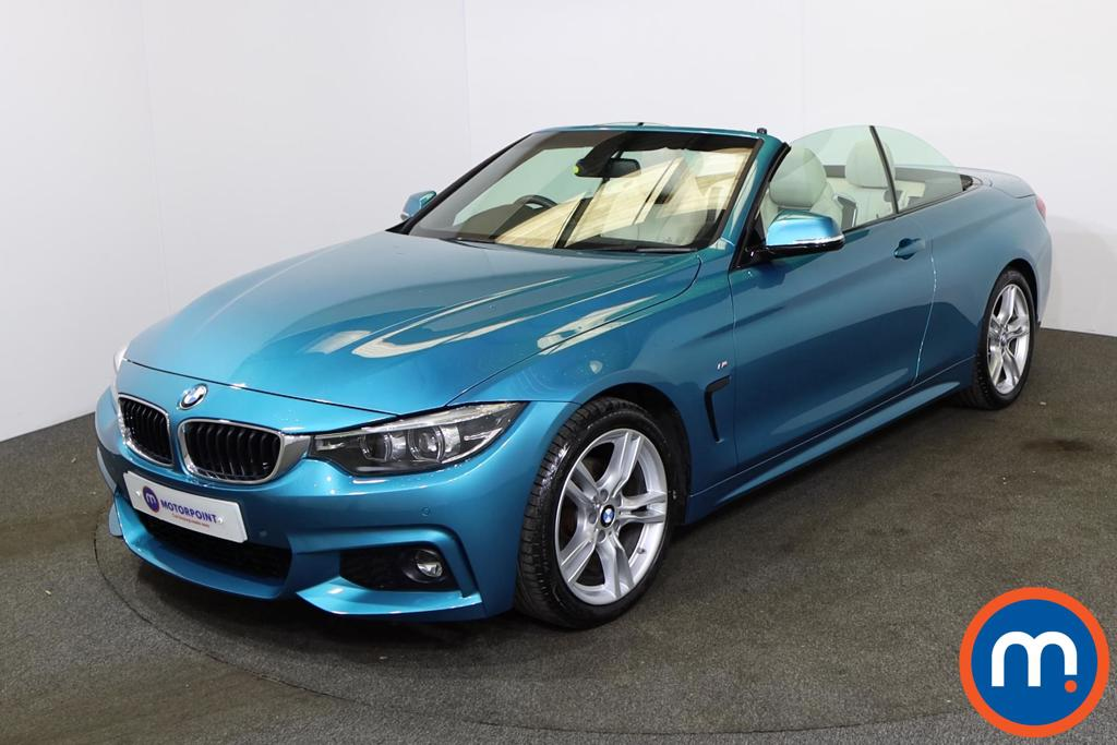 BMW 4 Series 420i M Sport 2dr Auto [Professional Media] - Stock Number 1228833 Passenger side front corner