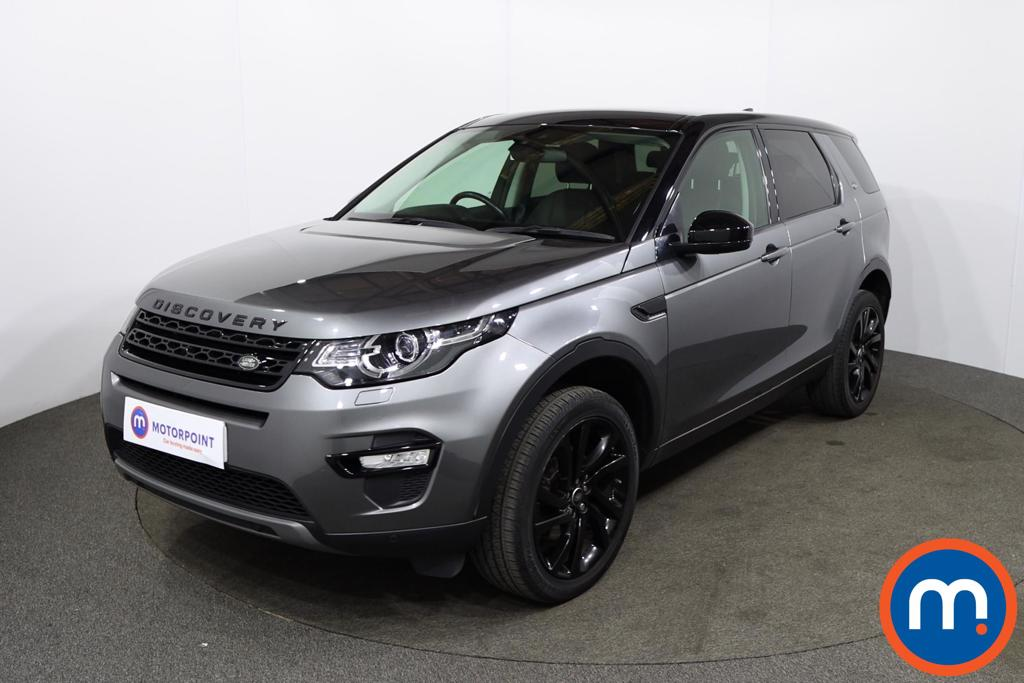 Land Rover Discovery Sport 2.0 TD4 180 HSE Black 5dr Auto - Stock Number 1229642 Passenger side front corner