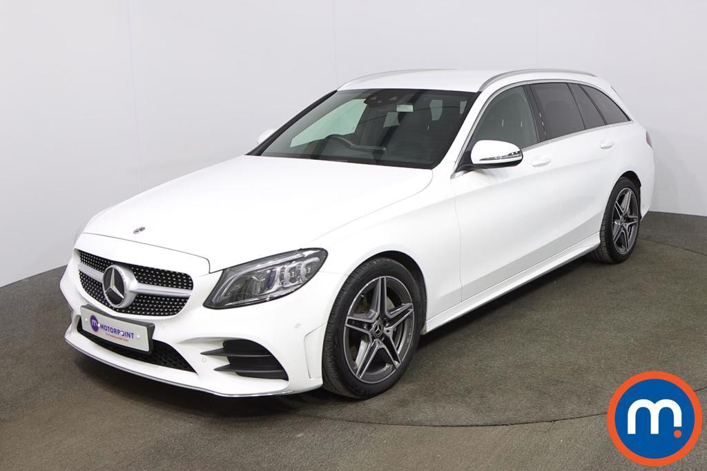Mercedes-Benz C Class C200 AMG Line Premium 5dr 9G-Tronic - Stock Number 1229660 Passenger side front corner