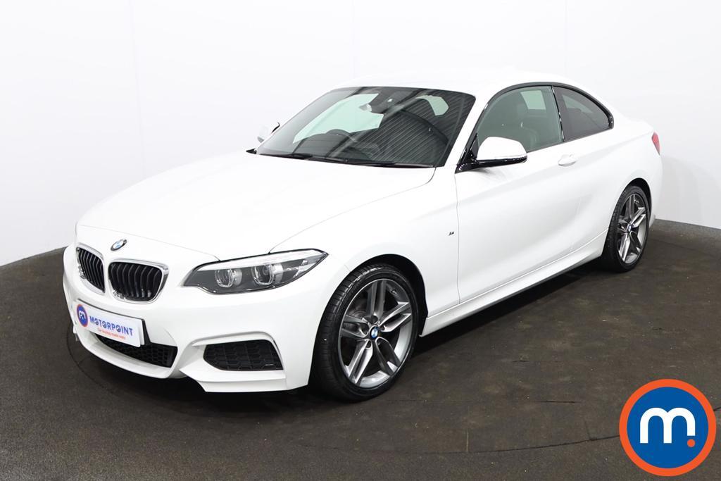 BMW 2 Series 218i M Sport 2dr [Nav] - Stock Number 1230288 Passenger side front corner