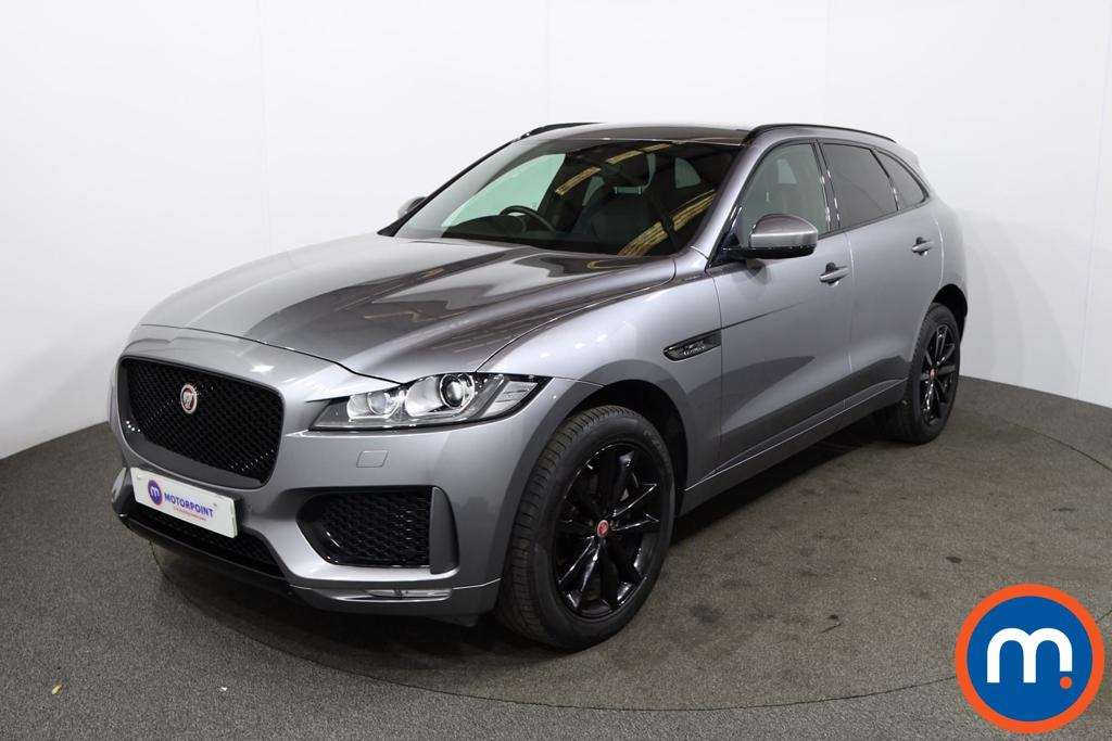 Jaguar F-Pace 2.0d [180] Chequered Flag 5dr Auto AWD - Stock Number 1230518 Passenger side front corner