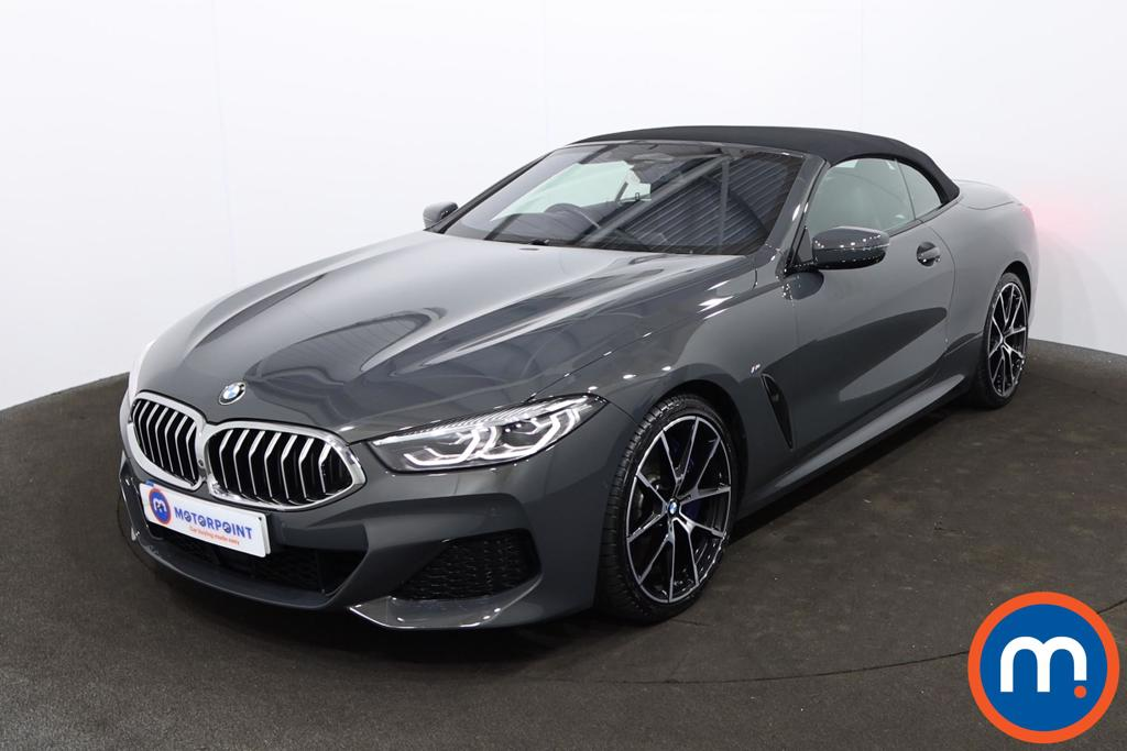BMW 8 Series 840d xDrive 2dr Auto - Stock Number 1230532 Passenger side front corner